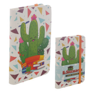 Collectable Hardback Notebook - Cactus Design