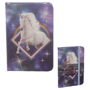 Collectable Hardback Notebook - Cosmic Unicorn