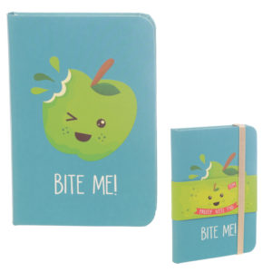 A6 Collectable Hardback Notebook - Fruit with Faces