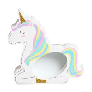 Unicorn Magic MDF Money BankUnicorn Magic MDF Money Bank