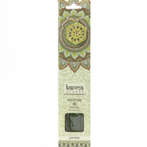 Jasmine Karma Incence Sticks and Holder Pack of 40Jasmine Karma Incence Sticks and Holder Pack of 40