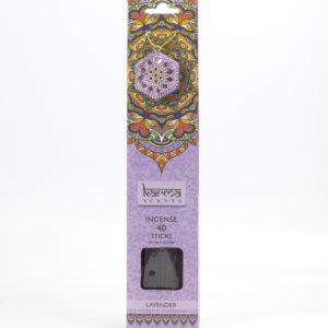 Lavender Karma Incence Sticks and Holder Pack of 40Lavender Karma Incence Sticks and Holder Pack of 40