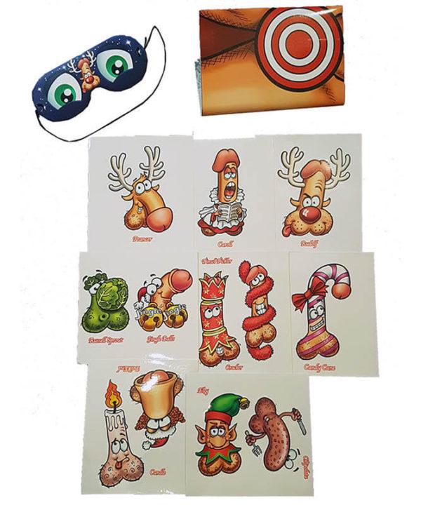 Secret Santa Junk on the Hunk Xmas Edition Game