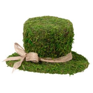 Moss Top Hat DecorationMoss Top Hat Decoration