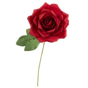 Red Stemmed Rose DecorationRed Stemmed Rose Decoration