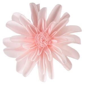 """Set of 2 Pink 7.5"""" Flower DecorationsSet of 2 Pink 7.5"""" Flower Decorations"""