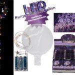 Multi Coloured LED Party Foil BalloonMulti Coloured LED Party Foil Balloon