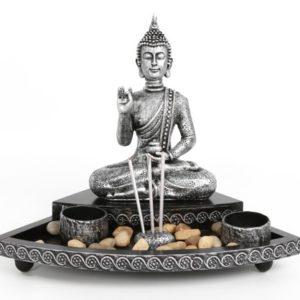 Buddha Tea Light and Incense HolderBuddha Tea Light and Incense Holder