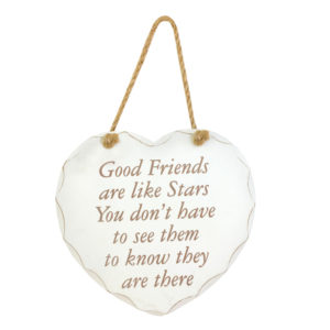 Good Friends Are Like Star PlaqueGood Friends Are Like Star Plaque
