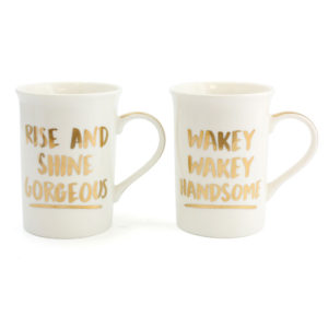 Gorgeous and Handsome Mugs Set of 2Gorgeous and Handsome Mugs Set of 2