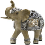 LED Silver Elephant SmallLED Silver Elephant Small