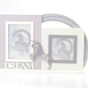 Unicorn Double Photo Frame - DreamUnicorn Double Photo Frame - Dream