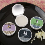 Personalised vanilla scented lip balm with real glass mirrorPersonalised vanilla scented lip balm with real glass mirror
