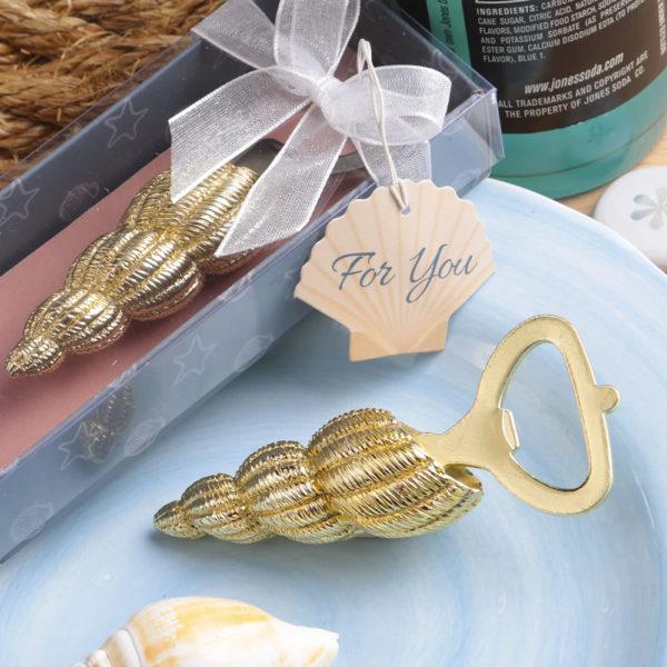 Conch sea shell design bottle opener