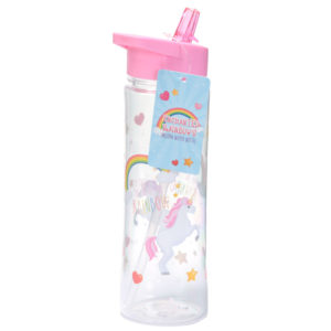 Enchanted Rainbows Unicorn Water Bottle 500mlEnchanted Rainbows Unicorn Water Bottle 500ml