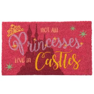 Coir Door Mat - Not All Princesses Live in Castles