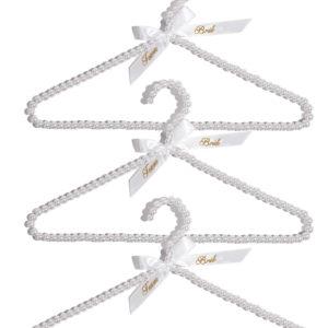 Set of 3 Team Bride Beaded HangersSet of 3 Team Bride Beaded Hangers