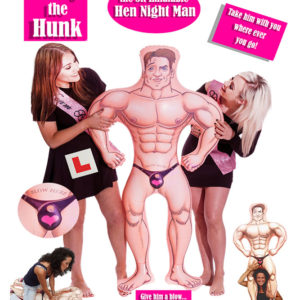 Harry the Hunk 5ft Inflatable ManHarry the Hunk 5ft Inflatable Man