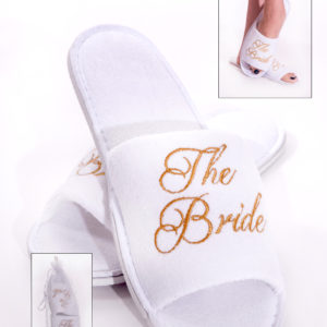 Spa Slippers for the BrideSpa Slippers for the Bride