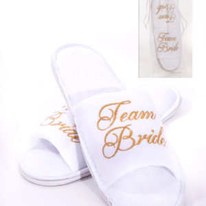 Team Bride Spa SlippersTeam Bride Spa Slippers