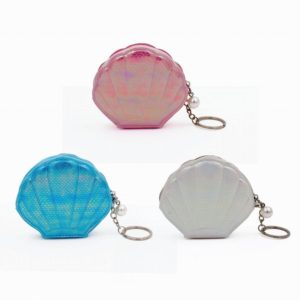 Shell Purse and Keyring Assortment of 3Shell Purse and Keyring Assortment of 3
