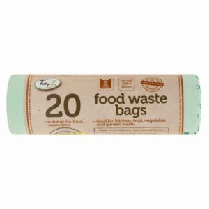 Biodegradable Food Waste Bags 5L - Pack of 20Biodegradable Food Waste Bags 5L - Pack of 20