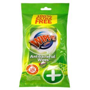Antibacterial Wet Wipes - 80 PackAntibacterial Wet Wipes - 80 Pack