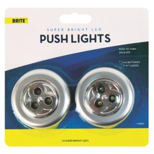 LED Push Lights - 2 PackLED Push Lights - 2 Pack