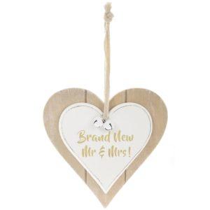 Twin Heart Brand New Mr & MrsTwin Heart Brand New Mr & Mrs