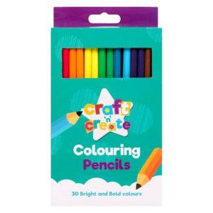 Colouring Pencils - 30 PackColouring Pencils - 30 Pack