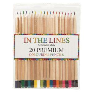 Premium Colouring Pencils - 20 PackPremium Colouring Pencils - 20 Pack