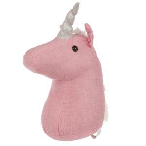 Cute Pink Unicorn Door Stop