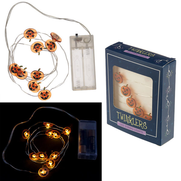 Decorative LED Light String – Halloween Pumpkins