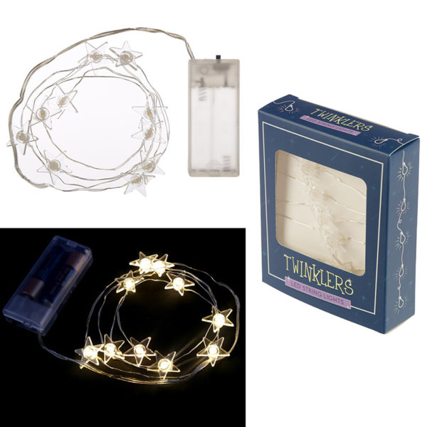 Decorative LED Light String – Stars