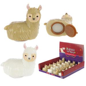 Funky Lip Balm - Cute Alpaca Design