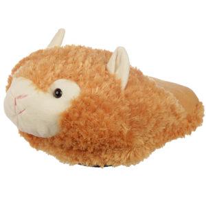 Funky Plush Maxi Slipper Foot Warmer - Tan Alpaca