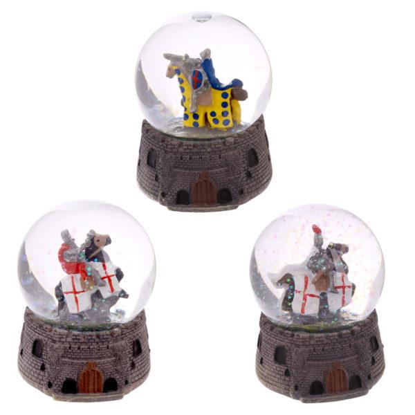 Knight Snow Globe – Mounted on Horseback