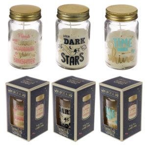 Summer Fragranced Candle Jar - Fun Slogans