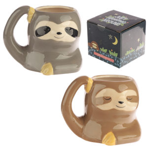 Cute Sloth Shaped Ceramic Mug