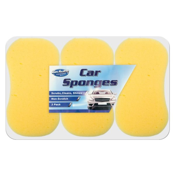 Car Sponges – 3 Pack