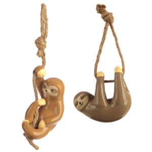 Fun Collectable Hanging Sloth Decoration