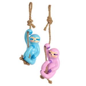 Fun Collectable Pop Art Hanging Sloth Decoration