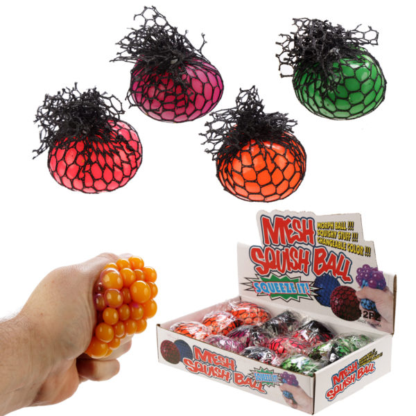 Fun Kids Squish Mesh Colour Change Ball