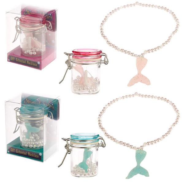 Fun Mermaid Collectables – Pearl DIY Necklace
