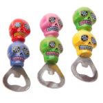 Fun Novelty Day of the Dead Skull Bottle Opener