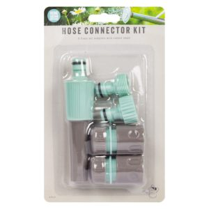 Garden Hose Connector Set - 5 PieceGarden Hose Connector Set - 5 Piece
