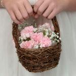 Rattan Flower BasketRattan Flower Basket