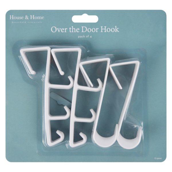 Door Hooks – 4 Pack