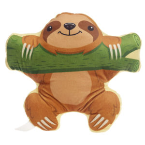 Plush Sloth Design Cushion
