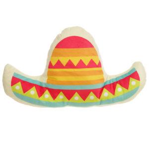 Plush Sombrero Hat Design Cushion